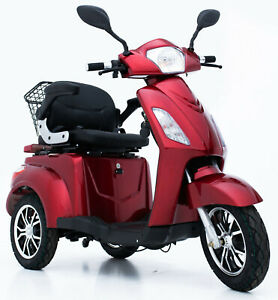 New Fabulous 3 Wheeled 800W Electric Mobility Scooter FREE DELIVERY Green Power