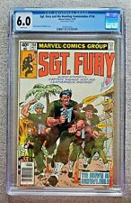 Sgt Fury and his Howling Commandos #154 CGC graded 6.0 FN October 1979
