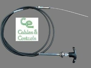 Heavy duty engine stop cable kit. 2.0m universal fitting kit. Aus assembled