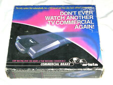 ULTRA RARE BRAND NEW Arista Commercial Brake Commercial Free VHS VCR FREE SHIP