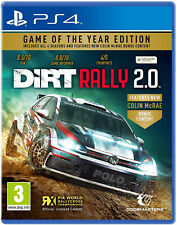 PS4 Dirt Rally 2.0 GOTY Game of the Year Edition NEU&OVP Playstation 4