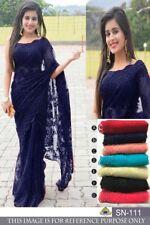 Wedding Saree Bollywood Ethnic fancy Party Wear Pakistani Designer Saree sari