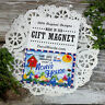 Relative Gift  MAGNET Sky is  blue over NONI 'S House * Packaged Gift Magnet USA