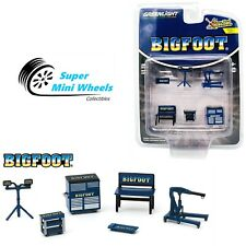 Greenlight 1:64 Shop Tool Accessories Series 2 - Bigfoot Monster Truck 16040-A