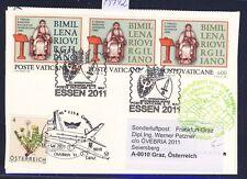 49742) LH FISA SF Frankfurt - Graz Österreich 12.5.2011, Kte Vatikan SPA Essen