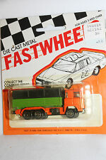 1970's Playart Fast Wheels, Leyland Covered Truck, New on Card