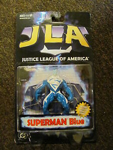 Justice League of America Superman Blue-Kenner-1998-N.I.P.