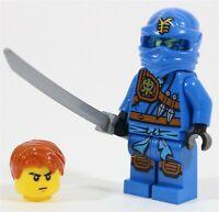 NEW LEGO NINJAGO NRG JAY TOURNAMENT MINIFIGURE MADE OF GENUINE LEGO PARTS