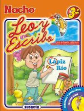 NACHO LEO y ESCRIBO 3rd GRADE WRITING & READING SPANISH ESPANOL GRAMMAR CHILDREN