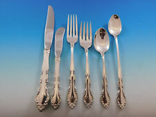 Grandeur by Heirloom Oneida Sterling Silver Flatware Set for 12 Service 80 pcs