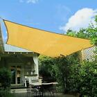 Sun Shade Sail Canopy Rectangle Sand Uv Block Sunshade For Backyard Deck Outdoor