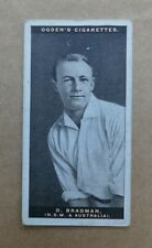 More details for don bradman cricket card 1928 rookie