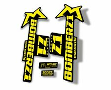 Marzocchi Bomber 888 RC2X 2006 Fork Suspension Sticker Decal Kit Adhesive Yellow