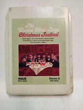 Vienna Choir Boys Christmas Festival RCA 1976 Eight 8 Track Tape et151