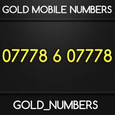 GOLD 0777 GOLDEN EASY VIP DIAMOND PLATINUM 0777 MOBILE NUMBER 07778607778