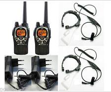 WALKIE TALKIE MIDLAND GXT1000 5W + LARINGOFONO MILITAR +CARGADORES INDIVIDUALES