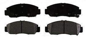 Disc Brake Pad Set-Semi-Metallic Front ACDelco Advantage 14D959MH