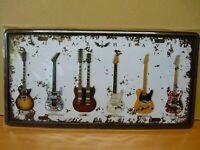 PLAQUES métal embossé immatriculation US 15 X 30 cm : Guitar Heave hendrix ...