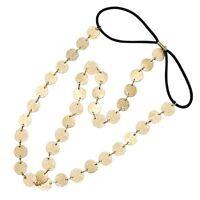 BOHO Style Festival Headband Crown Arabian Chain Hair Band Cuff Head Chain E2F6