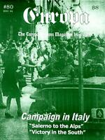 "GRD Europa Mag  #80 ""Campaign in Italy - Salerno to the Alps, Victory in t New"