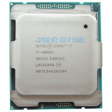 Intel Core i7-9800X SREZ9 X-series Process 6Cores 16Threads 3.8GHz 8GT/s LGA2066