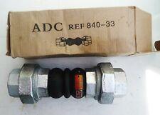Compensateur de dilatation à raccord union F/F - Double sphère - ADG 840-33