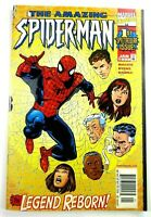 Marvel AMAZING SPIDER-MAN (1999) #1 RARE Newsstand/UPC VARIANT VF/NM Ships FREE!