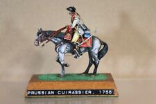 HISTOREX SEVEN YEARS WAR MOUNTED PRUSSIAN CUIRASSIER 1756 MUSEUM QUALITY nv