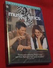 Music and Lyrics (DVD, 2007, Widescreen) Hugh Grant   Drew Barrymore Brand New!