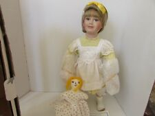 "Premiere Porcelain Doll Mary Frances Mv-109 Hsn 532752 Boxed Coa 23.5"""
