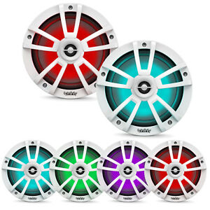 """Infinity 822MLT Reference 8"""" Coaxial Marine 450W RGB LED White Speakers (Pair)"""