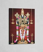 "Lord Venkateswara / Srinivas / Balaji - Print on Canvas 12"" x 16"" (CV158SB)"