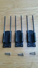 3 x Delkim carbon snag ears fit all complete EV Delkim Plus & TXi bite alarms.