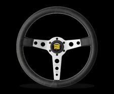 MOMO Prototipo Heritage Steering Wheel Silver + MOMO Hub Adapter for Porsche