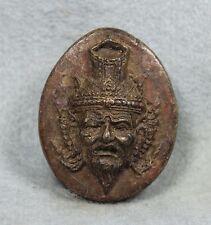 Carve Lersi Hermit Antique Thai Buddha Amulet Phra LP Boon Wat Klang Bang Kaew