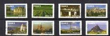 FRANCE 2009 4 SERIES COMPLETES DE TIMBRES AUTOADHESIFS DECOLLE.
