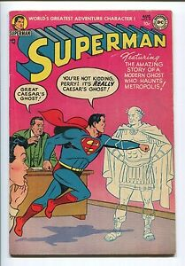 Superman 91 FN 6.0 Nice Golden Age Superman book!
