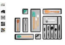 Madesmart 8-Piece Premium Drawer Organization Set Granite New