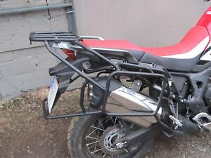 Honda CRF1000I WHOLE-WELDED LUGGAGE RACK SYSTEM + CRASH BARS FULL SET Mmoto GIFT