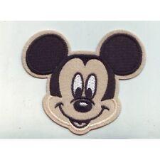 Accessoire Scrapbooking - Ecusson a coudre - Disney Mickey - Dimensions : 9x7cm