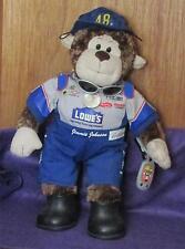 Hendrick Motorsports Jimmie Johnson  lowes stuffed monkeyThe Beary Beast! Brown