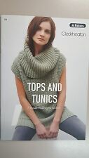 Unique Knitting Pattern #104 Tunics & Tops 5 Designs to make