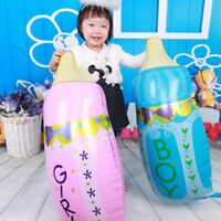 Baby Bottle Foil Balloon Boy Girl Baby Birthday Party Shower Christening Decor