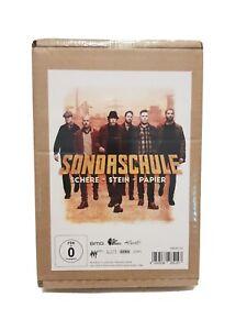 Sondaschule - Schere, Stein, Papier (Limited Box Edition) CD DVD T-Shirt NEU OVP