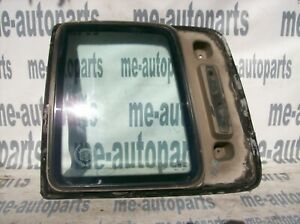 89-90 CADILLAC COUPE DEVILLE FLEETWOOD LEFT REAR DOOR QUARTER VENT GLASS WINDOW