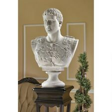 "Design Toscano 33"" Caesar Augustus Of Prima Porta Grand-Scale Sculptural Bust"
