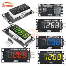 036 Inch 7 Segment 4 Digit Led Display Tm1637 Clock Digital Tube Module 5 Color