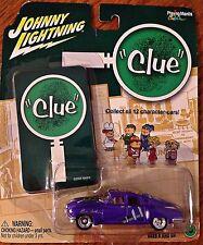 Johnny Lightning Clue Professor Plum 1948 Tucker #6 With Game Piece
