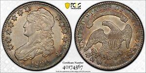 1830-P Capped Bust Half Dollar Small 0 AU53 PCGS Gold Shield AU 53 Silver 50C