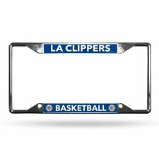 Los Angeles Clippers NBA Lightweight Chrome Metal License Plate Frame
